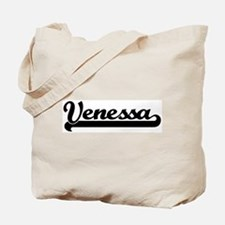 Black jersey: Venessa Tote Bag