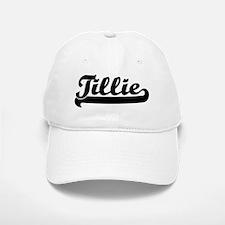 Black jersey: Tillie Baseball Baseball Cap