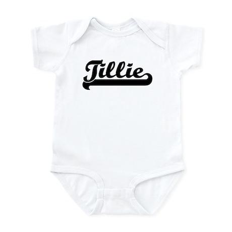 Black jersey: Tillie Infant Bodysuit