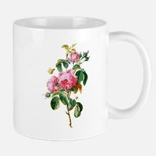 Cabbage Rose Drawn From Nature Small Small Mug