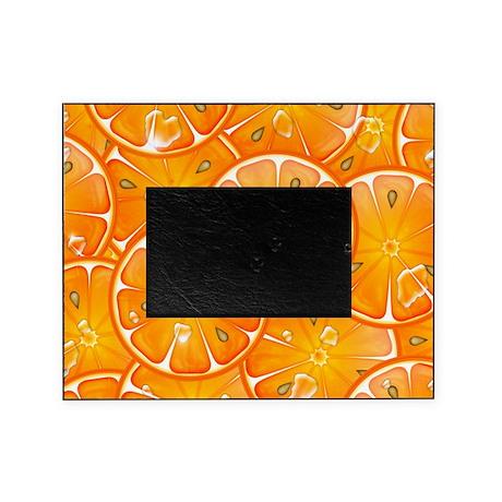 Oranges Picture Frame