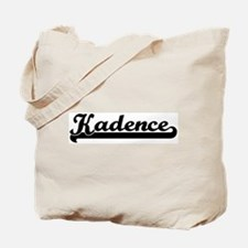 Black jersey: Kadence Tote Bag