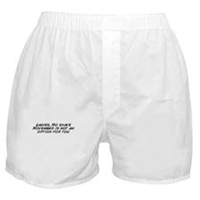 Cool No shave november Boxer Shorts