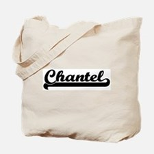 Black jersey: Chantel Tote Bag