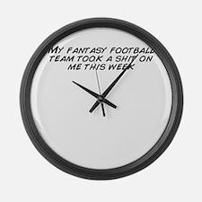 Cute Fantasy Large Wall Clock