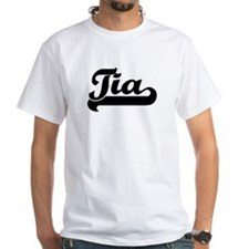 Black jersey: Tia Shirt