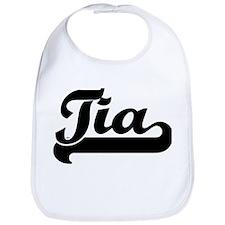 Black jersey: Tia Bib