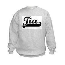 Black jersey: Tia Sweatshirt