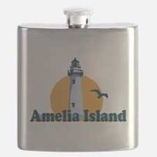 Amelia Island - Lighthouse Design. Flask