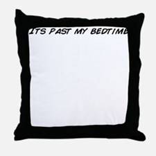 Unique Read past my bedtime Throw Pillow