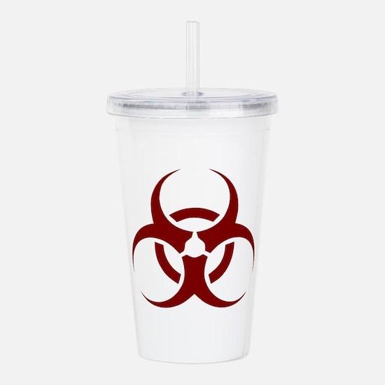biohazard outbreak des Acrylic Double-wall Tumbler