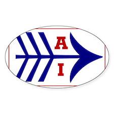 AI (American Indian) Rectangle Bumper Stickers