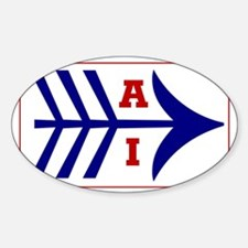 AI (American Indian) Rectangle Decal