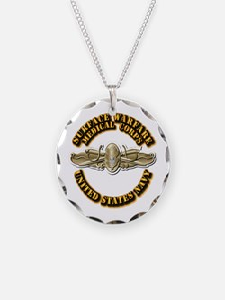Navy - Surface Warfare - MC Necklace