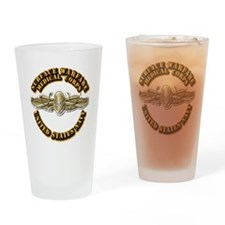 Navy - Surface Warfare - MC Drinking Glass