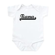 Black jersey: Tiana Infant Bodysuit