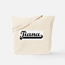 Black jersey: Tiana Tote Bag
