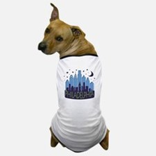 Philly Skyline Mega Cool Dog T-Shirt