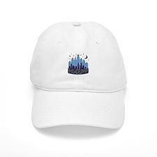 Philly Skyline Mega Cool Baseball Baseball Cap