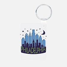 Philly Skyline Mega Cool Keychains