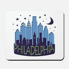 Philly Skyline Mega Cool Mousepad