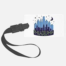 Philly Skyline Mega Cool Luggage Tag