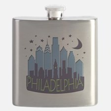 Philly Skyline Mega Cool Flask