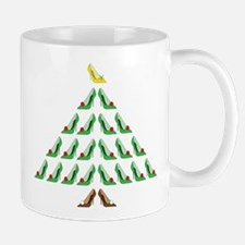 Christmas Shoe Tree Mug