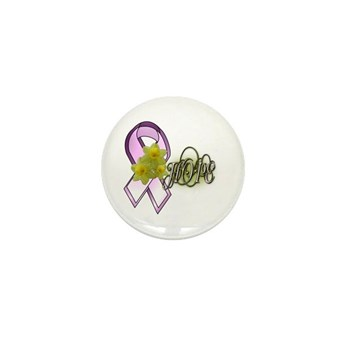 HOPE - Breast Cancer Awarenes Mini Button (10 pack