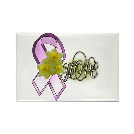 HOPE - Breast Cancer Awarenes Rectangle Magnet
