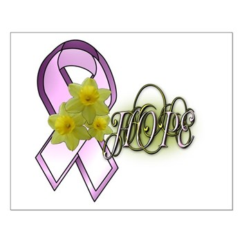 HOPE - Breast Cancer Awarenes Small Poster