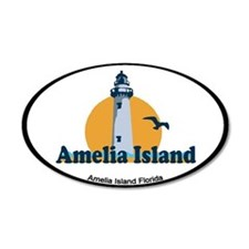 Amelia Island - Lighthouse Design. Wall Decal