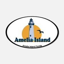 Amelia Island - Lighthouse Design. Wall Decal