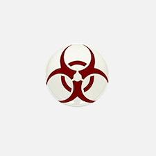 biohazard outbreak design Mini Button (10 pack)