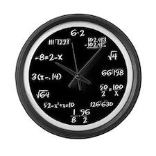 Unique Math funny Large Wall Clock