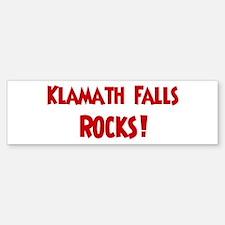 Klamath Falls Rocks Bumper Bumper Bumper Sticker