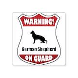 German shepherd dog Square