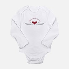 Angels Watch Long Sleeve Infant Bodysuit