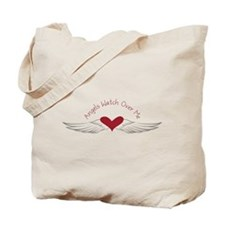 Angels Watch Tote Bag
