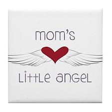 Mom's Little Angel Tile Coaster