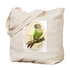Tote Bag - Green Cheeked Conure