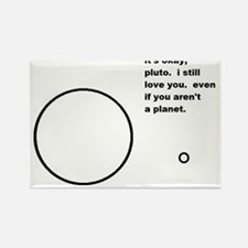 Interplanetary Love Story Rectangle Magnet
