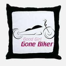 Good Girl Throw Pillow