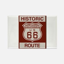 Rancho Cucamonga Route 66 Rectangle Magnet (10 pac