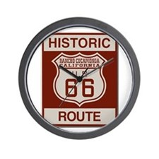 Rancho Cucamonga Route 66 Wall Clock