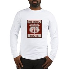 Rancho Cucamonga Route 66 Long Sleeve T-Shirt