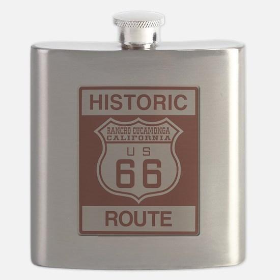 Rancho Cucamonga Route 66 Flask