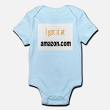 I got it at Amazon.com Infant Bodysuit