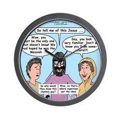 Road to Emmaus Wall Clock