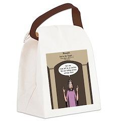 Entropy Canvas Lunch Bag